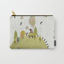 oh my how penguins fly Carry-All Pouch
