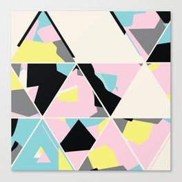 triangle no.3 / with love Canvas Print