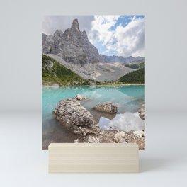 Sorapis lake - Italy Mini Art Print