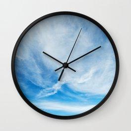 Cirrus Clouds 9 Wall Clock