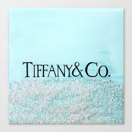 T - TIFFANY & CO Canvas Print