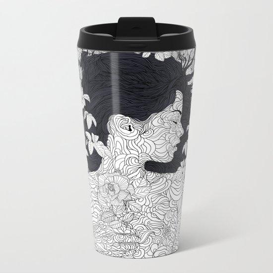 Love and Beauty Metal Travel Mug