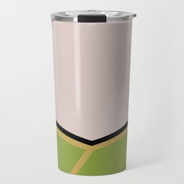 James T Kirk - Minimalist Star Trek TOS The Original Series -  James Jim - startrek - Trektangles Travel Mug