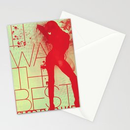 Best She'd Ever Had Stationery Cards
