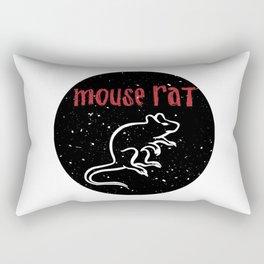 Mouse Rat 2 Rectangular Pillow