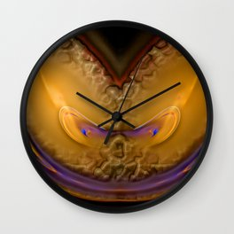 Whatever happens - keep smiling ... Wall Clock