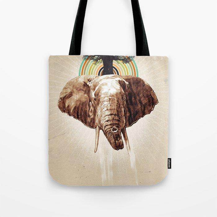 "Glue Network Print Series ""Environment & Animals"" Tote Bag"