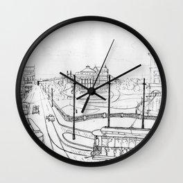 Sao Paulo 1920 Wall Clock
