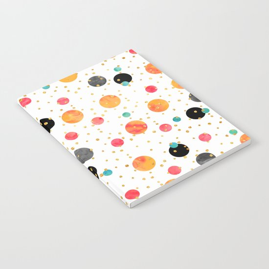 Peachy Party Notebook