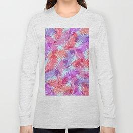 Feathers pattern Long Sleeve T-shirt