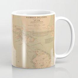 Hawaii Postal Route Map 1908 Coffee Mug