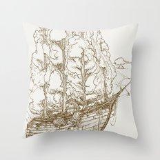 Voyage Home Throw Pillow