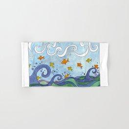 Fish o'da Sea Hand & Bath Towel