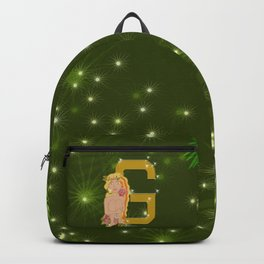 G for Gold Backpack