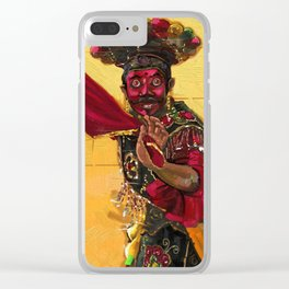 Betawi mask dance Clear iPhone Case