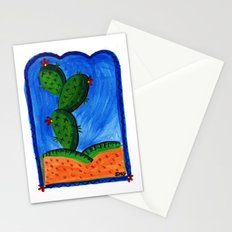 cactus dreaming Stationery Cards