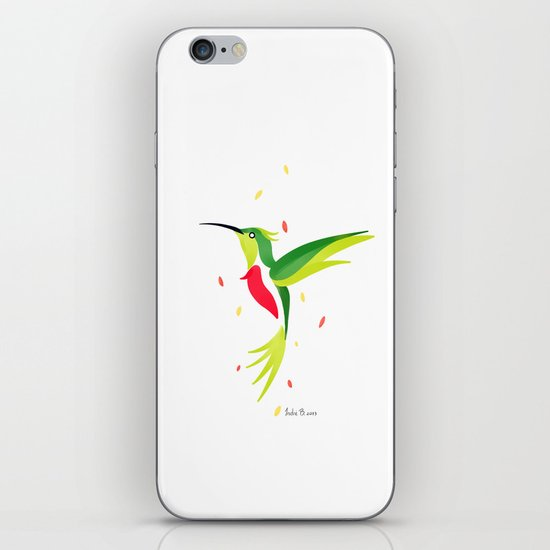 Hummingbird 2 iPhone & iPod Skin