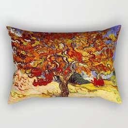 Vincent Van Gogh Mulberry Tree Rectangular Pillow