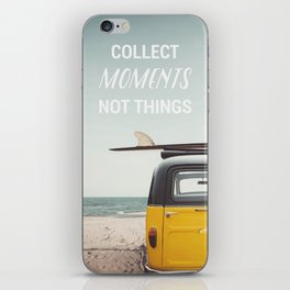 Collect moments iPhone Skin