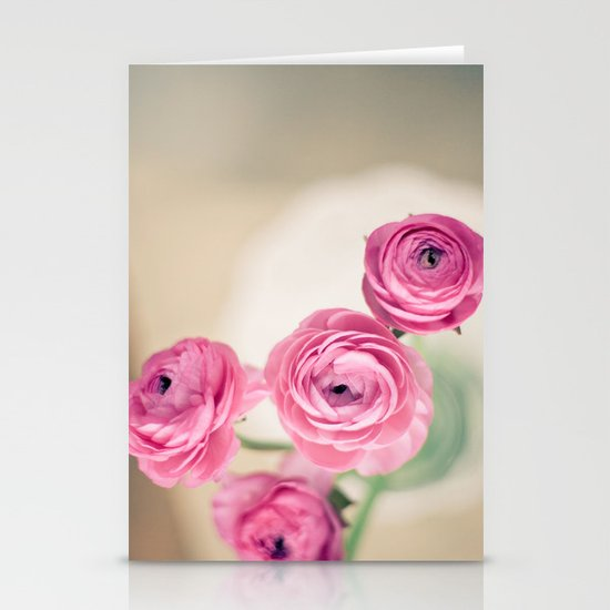 Ranunculus in Morning Light Stationery Cards