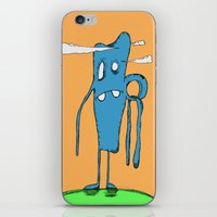 iron giant iPhone & iPod Skins featuring Giant by Chris Napolitano