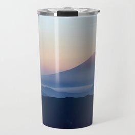 Beautiful Breathtaking Mount Fuji Travel Mug