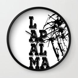 LA Palma Wall Clock