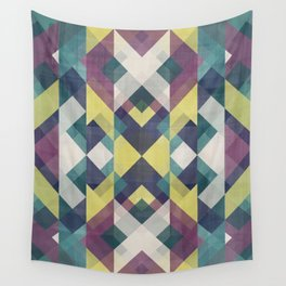 Bright symmetrical pattern Wall Tapestry