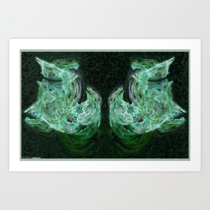 Frakblot Thuja Art Print