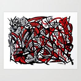 Abstract 21 Art Print