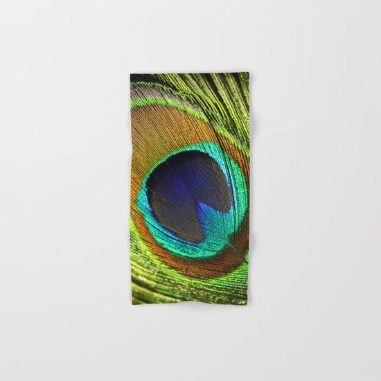 peacock feather Hand & Bath Towel