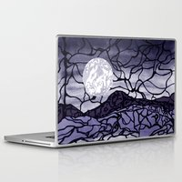 cracked Laptop & iPad Skins featuring Cracked by Mel Moongazer
