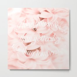 Be my Valentine... Metal Print
