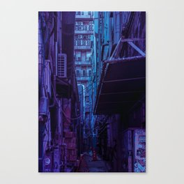 Tokyo Nights / Shadow of The Day / Liam Wong Canvas Print