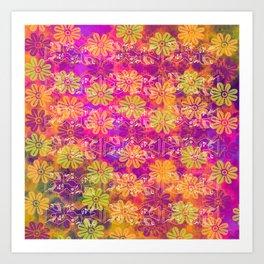 Paracas Colors Art Print