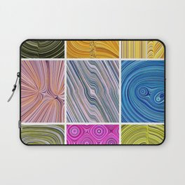 Electric Field Art Collage II Laptop Sleeve