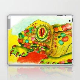 Yellow Lizzard Laptop & iPad Skin