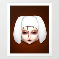 Misfit - Alicia Art Print