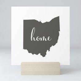 Ohio is Home Mini Art Print