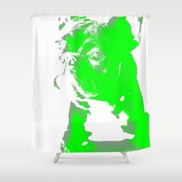 Französische Bulldogge Shower Curtain
