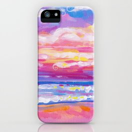 mornings in rodanthe iPhone Case