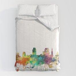 Sacramento California Skyline SP Comforters