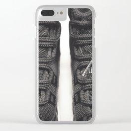 AJ Retro 11 B&W Pt.2 Clear iPhone Case