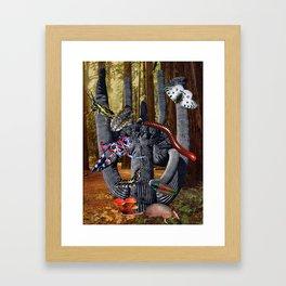 Creepy Crawlers Framed Art Print