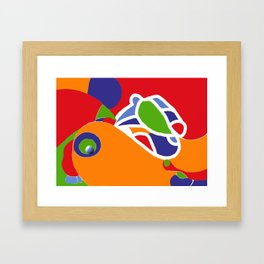 huhn .. Framed Art Print