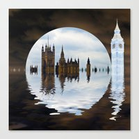politics Canvas Prints featuring Manipulated Politics by Shalisa Photography