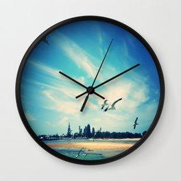 Flying Segulls Wall Clock