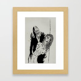 Blood Sucker Framed Art Print
