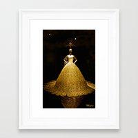 china Framed Art Prints featuring China by Saundra Myles