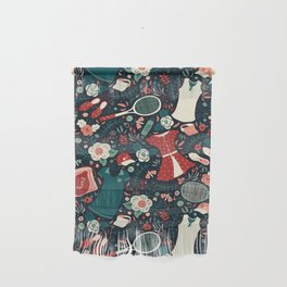 Tennis Style Wall Hanging